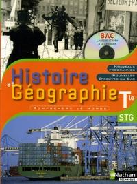 Yves Colombel et Eric Godeau - Histoire et géographie Tle STG. 1 Cédérom