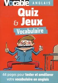 Yves Cotten - Quiz et jeux vocabulaire anglais.