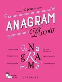 Yves Cunow et Hervé Hardoüin - Anagram Mania - Plus de 80 jeux de lettres.