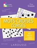 Yves Cunow - Mots croisés corsés.