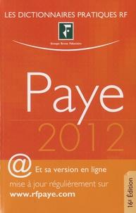 Yves de La Villeguérin - Dictionnaire Paye 2012.
