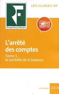 Deedr.fr L'arrêté des comptes - Tome 1, Le contrôle de la balance Image