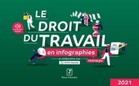 Yves de La Villeguérin et Florence Vasseur - Le droit du travail en infographies pratiques.