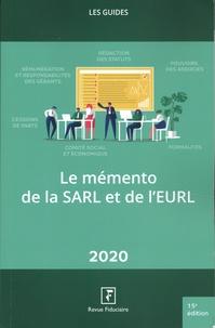 Yves de La Villeguérin - Le mémento de la SARL et de l'EURL.