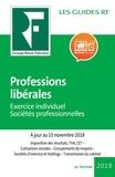 Yves de La Villeguérin - Professions libérales - Exercice individuel, sociétés profesionnelles.