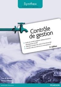 Yves De Rongé et Karine Cerrada - Contrôle de gestion.