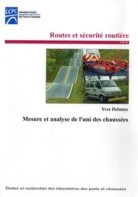 Yves Delanne - Mesure et analyse de l'uni des chaussées.
