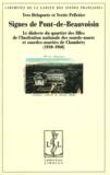 Yves Delaporte et Yvette Pelletier - Signes de Pont-de-Beauvoisin - Le dialecte du quartier des filles de l'Institution nationale des sourds-muets de Chambéry (1910-1960).