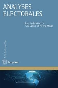Yves Déloye et Nonna Mayer - Analyses électorales.
