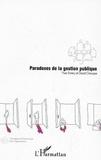 Yves Emery et David Giauque - Paradoxes de la gestion publique.