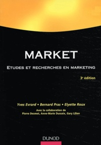 Yves Evrard et Bernard Pras - Market - Etudes et recherches en marketing.