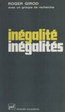 Yves Fricker et Roger Girod - Inégalité - inégalités - Analyse de la mobilité sociale.