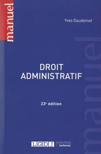 Yves Gaudemet - Droit administratif.