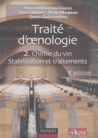 Deedr.fr Traité d'oenologie - Tome 2, Chimie du vin, Stabilisation et traitement Image