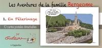 Yves Guézou - Les aventures de la famille Bergeome - Tome 1, En pelerinage livret collection.