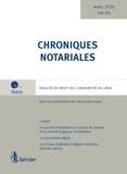 Yves-Henri Leleu - Chroniques notariales N° 63.