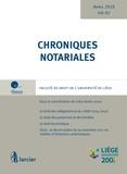 Yves-Henri Leleu - Chroniques notariales - Volume 67.