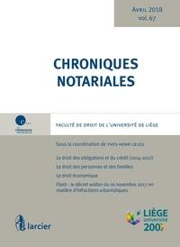 Feriasdhiver.fr Chroniques notariales - Volume 67 Image