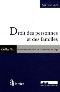 Yves-Henri Leleu - Droit des personnes et des familles - 2 volumes.