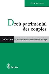 Yves-Henri Leleu - Droit patrimonial des couples.