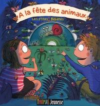 Yves Hirschfeld et Roland Garrigue - A la fête des animaux - Les p'tites Bébêtes. 1 CD audio