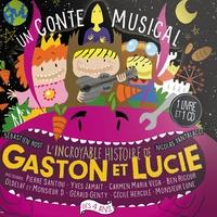 Yves Jamait et  Oldelaf - Gaston & Lucie. 1 CD audio