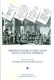 Yves Krumenacker et Boris Noguès - Protestantisme et éducation dans la France moderne - Actes du colloque de Lyon (11-12 octobre 2013).