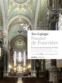 Yves Lafargue - Psautier de Fourvière - Psaumes des dimanches et fêtes Volume 2, Année B. 1 CD audio MP3