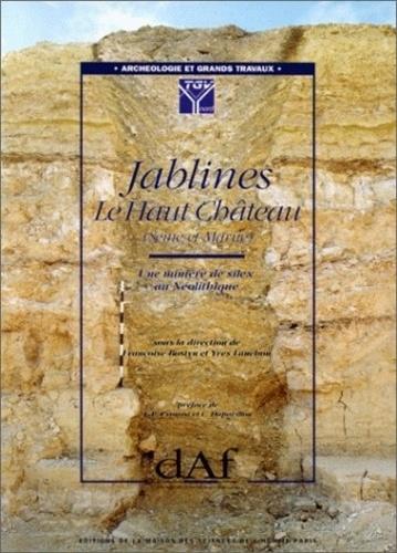 Yves Lanchon et Françoise Bostyn - Jablines, le Haut Château (Seine-et-Marne). - Une minière de silex au Néolithique.