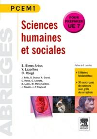 Yves Lazorthes et Stéphanie Bimes-Arbus - Sciences humaines et sociales.