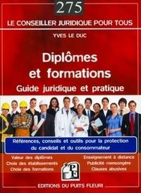 Diplômes et formations - Guide juridique et pratique.pdf