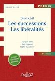 Droit civil. Les successions. Les libéralités.