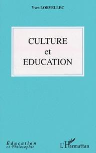 Yves Lorvellec - Culture et éducation.