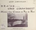 Yves Lostanlen - Brains, vous connaissez ? - Histoire d'une commune du pays de Retz.