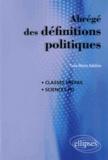 Yves-Marie Adeline - Abrégé des définitions politiques.