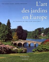 Histoiresdenlire.be L'art des jardins en Europe - De l'évolution des idées et des savoir-faire Image