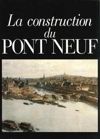 Yves Metman - La construction du Pont Neuf - Le registre ou plumitif de la construction du Pont Neuf (Archives nationales Z1J 1065).