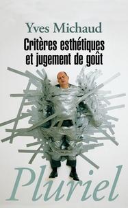 Lemememonde.fr Critères esthétiques et jugement de goût Image