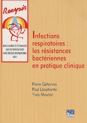 Yves Mouton et Pierre Gehanno - Infections respiratoires : les résistances bactériennes en pratique clinique.
