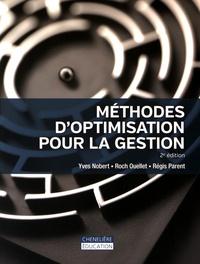 Méthodes d'optimisation de la gestion - Yves Nobert |