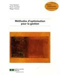 Yves Nobert et Roch Ouellet - Méthodes d'optimisation pour la gestion. 1 Cédérom