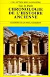 Yves Papin - Chronologie de l'histoire ancienne.