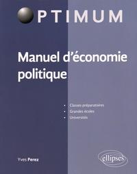 Galabria.be Manuel d'économie politique Image