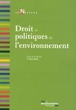 Yves Petit - Droit et politiques de l'environnement.