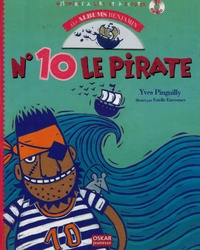 Yves Pinguilly et Estelle Euvremer - N° 10 le Pirate. 1 CD audio