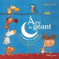 Yves Prual et François Barré - A pas de géant - 33 comptines et chansons. 1 CD audio