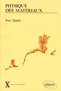 Yves Quéré - .