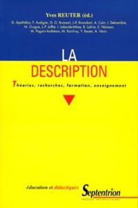 Rhonealpesinfo.fr LA DESCRIPTION. Théories, recherches, formation, enseignement Image