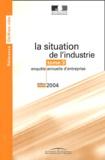 Yves Robin - La situation de l'industrie - Tome 3, enquête annuelle d'entreprise.