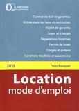 Yves Rouquet - Location mode d'emploi.